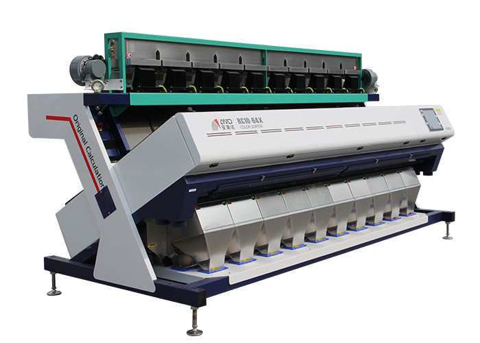 RC10 Model Grain Color Sorter Machine Highly Effective Control Algorithm