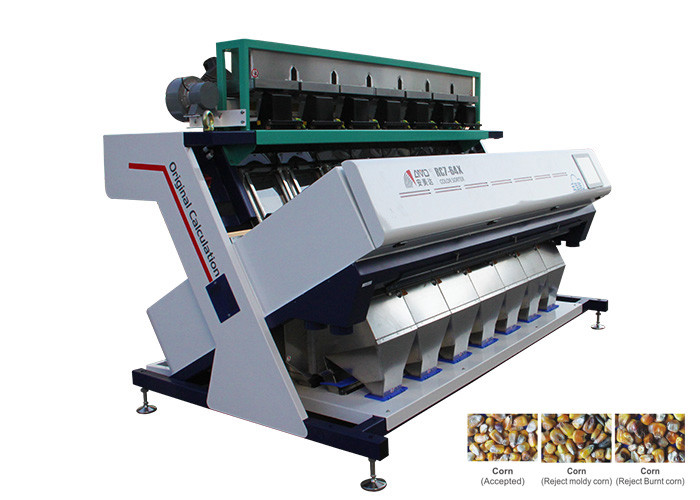 RC7 Model Corn Sorting Equipment , 1350KG Color Sorting Equipment