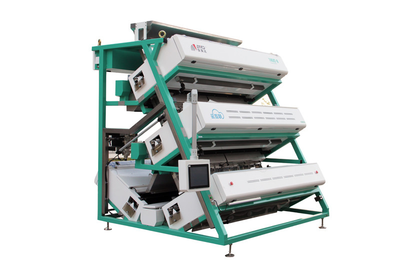 T4V2-6 Tea CCD Color Sorter Machine Lower Carryover And Lower Air Consumption